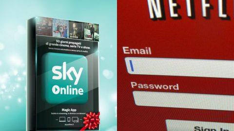 Netflix e Sky Online: un confronto tra i due servizi streaming