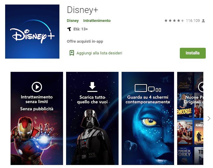 App android Disney+